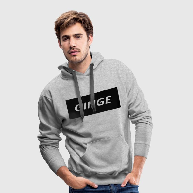 GINGE JUMPER DESIGN - Men's Premium Hoodie