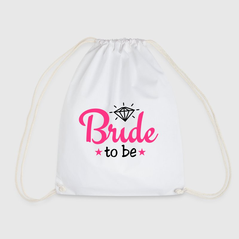 bride to be with diamond 2c Taschen & Rucksäcke - Turnbeutel