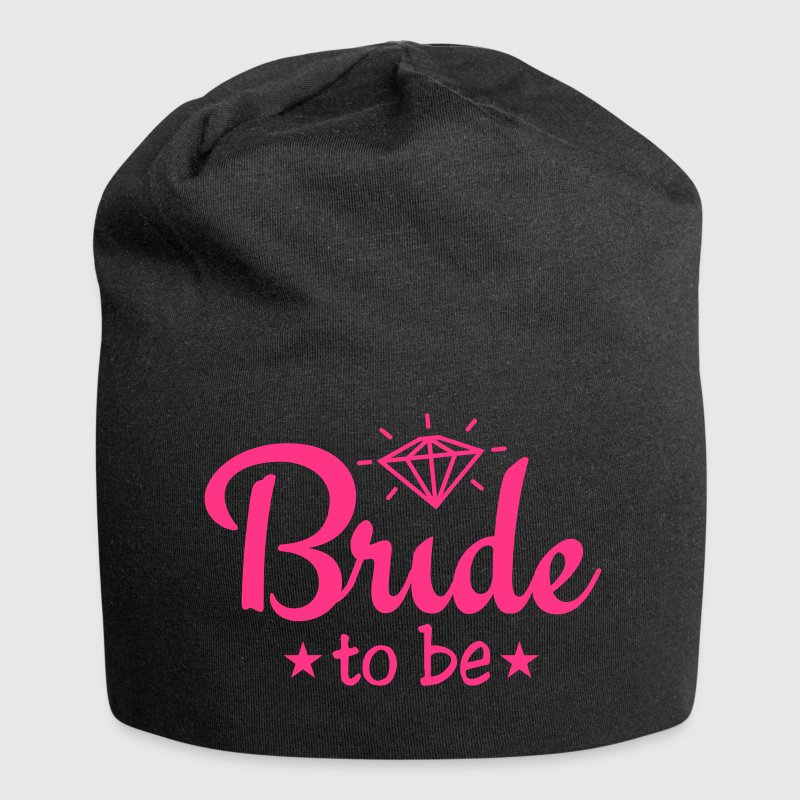 bride to be with diamond 1c Gorras y gorros - Gorro holgado de tela de jersey