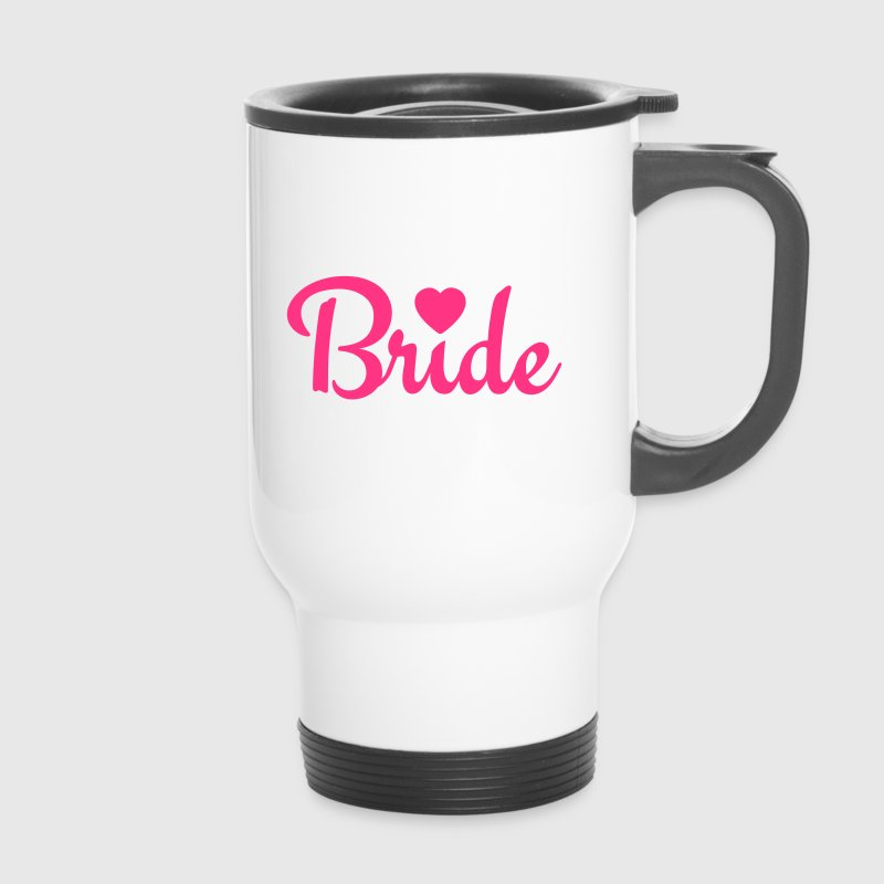 bride with heart 1c Bouteilles et Tasses - Mug thermos
