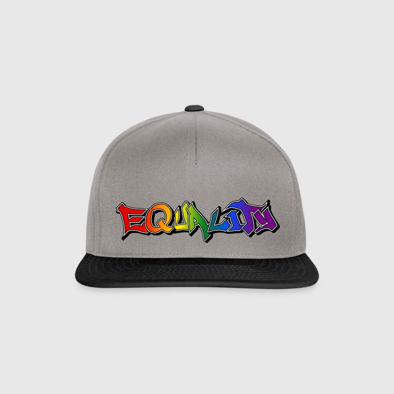 Equality Graffiti Shadows Caps & Hats - Snapback Cap