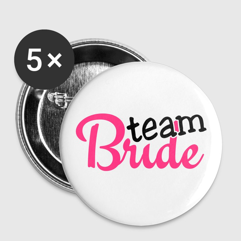team bride 2c Bottoni & spille - Spilla piccola 25 mm