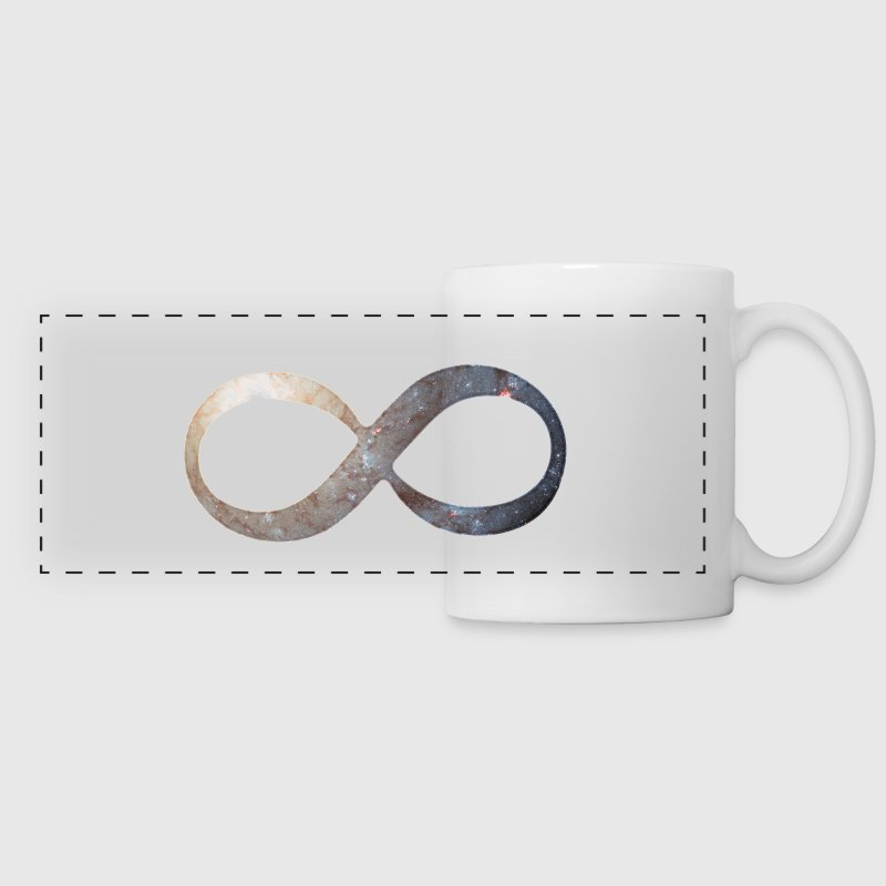 Infinity Symbol Mugs & Drinkware - Panoramic Mug