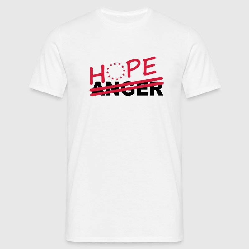 Hope over anger T-Shirts - Men's T-Shirt