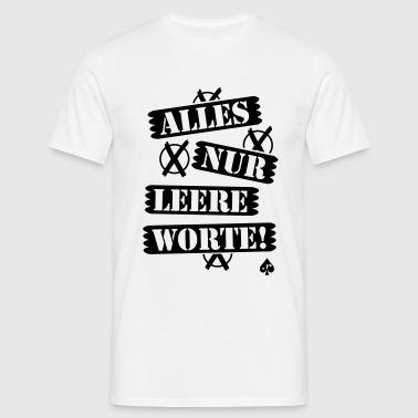 suchbegriff 39 leere worte 39 t shirts online bestellen spreadshirt. Black Bedroom Furniture Sets. Home Design Ideas
