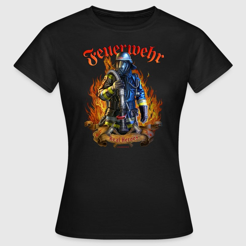 Feuerwehr real heroes original rahmenlos design t shirt for Original t shirt designs
