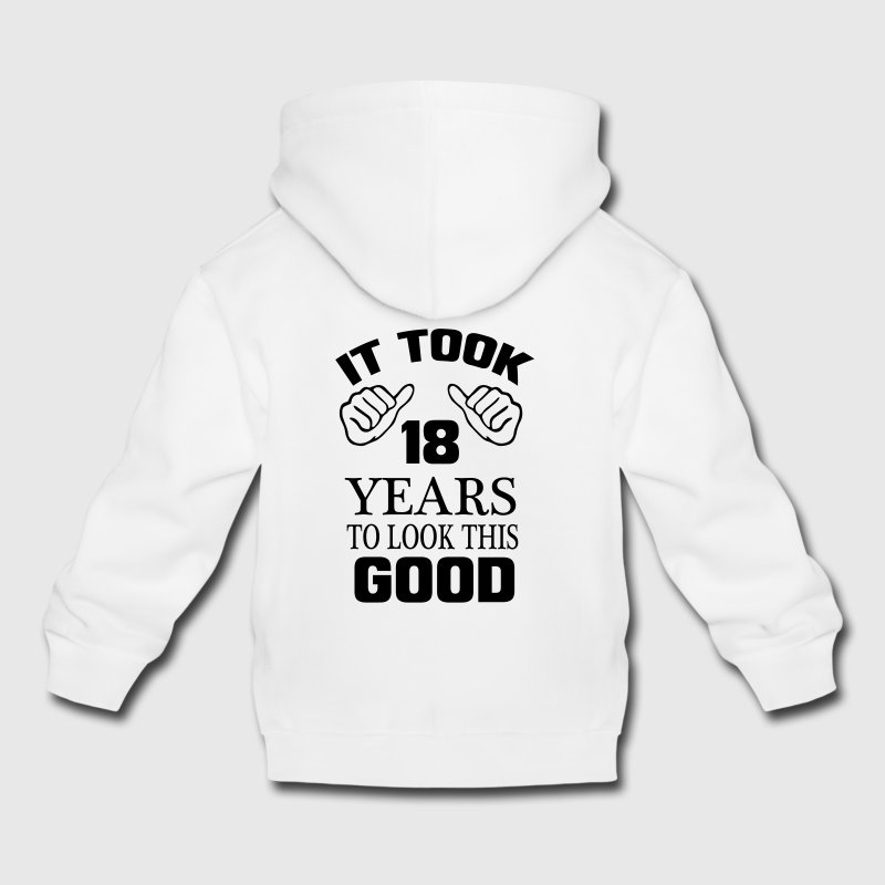 I GOT TO SEE 18 YEARS USED, SO GOOD! Hoodies - Kids' Premium Hoodie