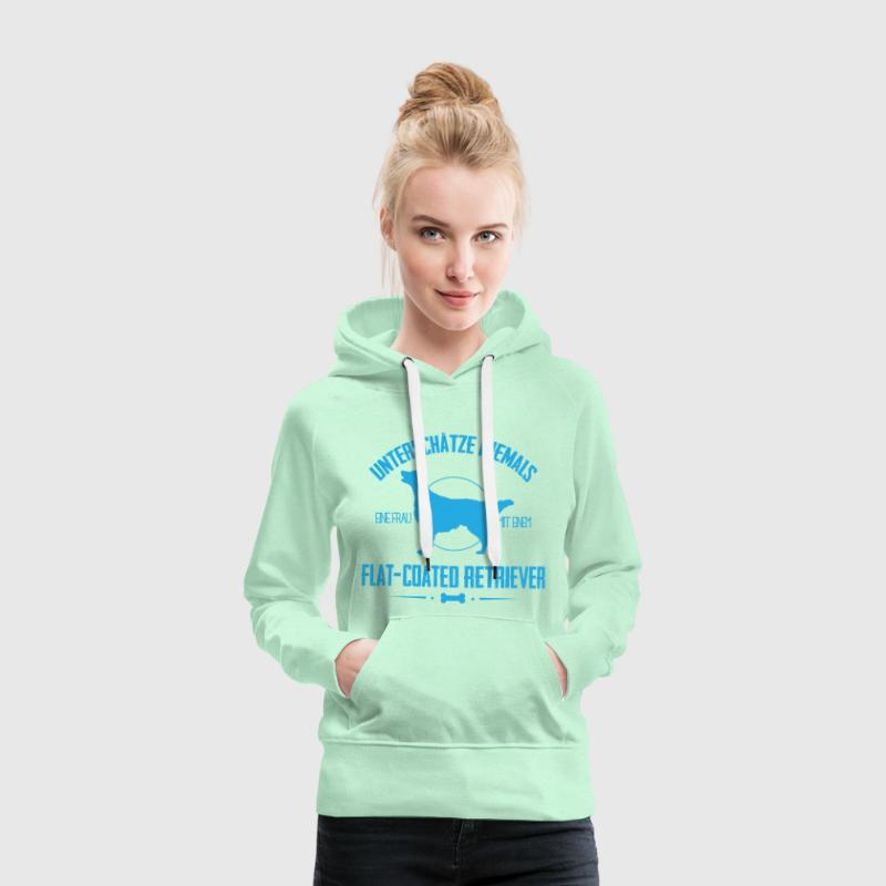 UN Flat-Coated Retriever Pullover & Hoodies - Frauen Premium Hoodie