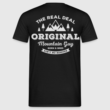 Original Mountain Guy Collegejacke - Männer T-Shirt