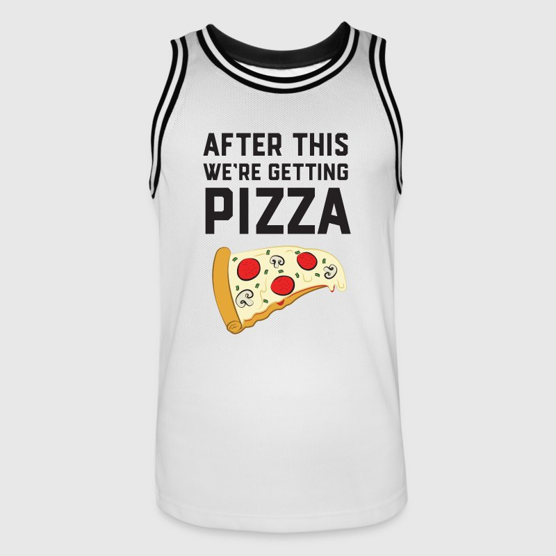 After This We're Getting Pizza Ropa deportiva - Camiseta de baloncesto para hombre