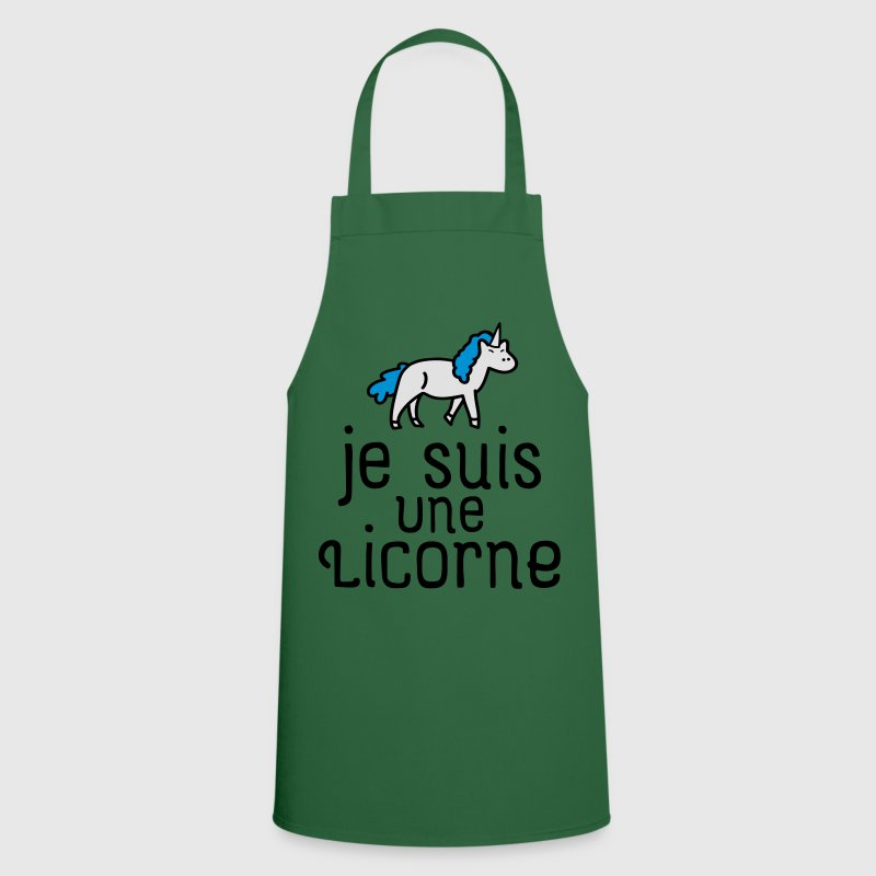 Tablier je suis une licorne spreadshirt - Je suis une fee du logis ...