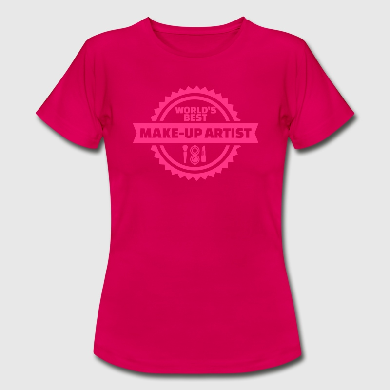 Make-up Artist T-Shirts - Frauen T-Shirt
