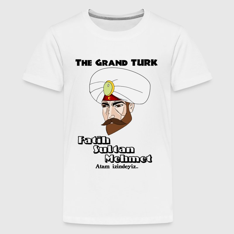 The Grand TURK Shirts - Teenage Premium T-Shirt