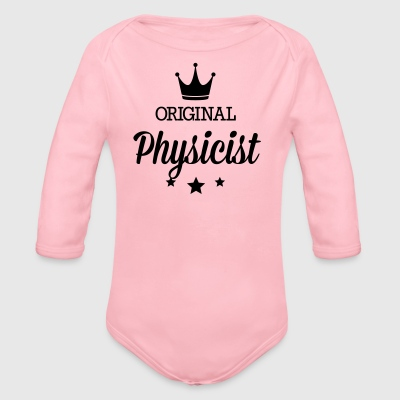 Original three star deluxe physicist T-Shirts - Organic Longsleeve Baby Bodysuit