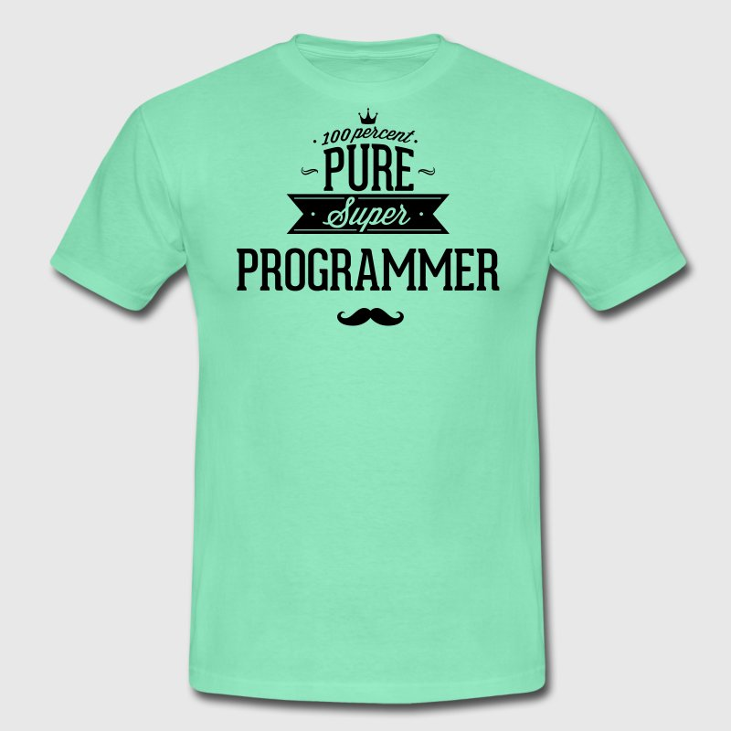 Absolutely pure Super programmers T-Shirts - Men's T-Shirt