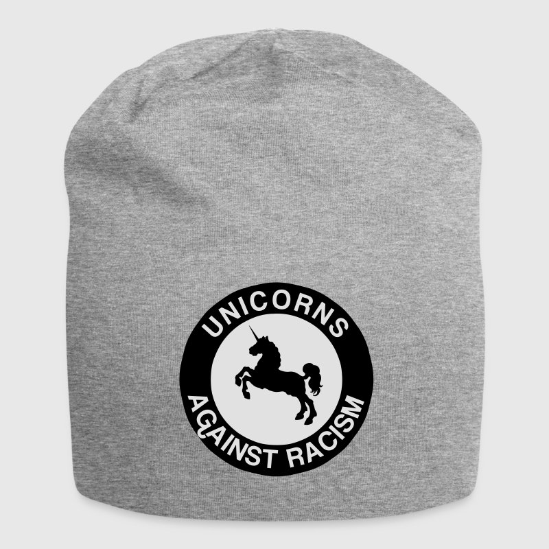 Unicorns Against Racism Caps & Mützen - Jersey-Beanie