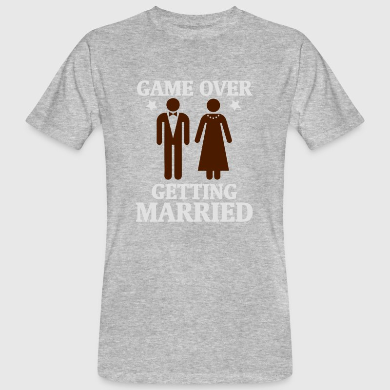 GAME OVER - DET ER GIFT! T-shirts - Organic mænd