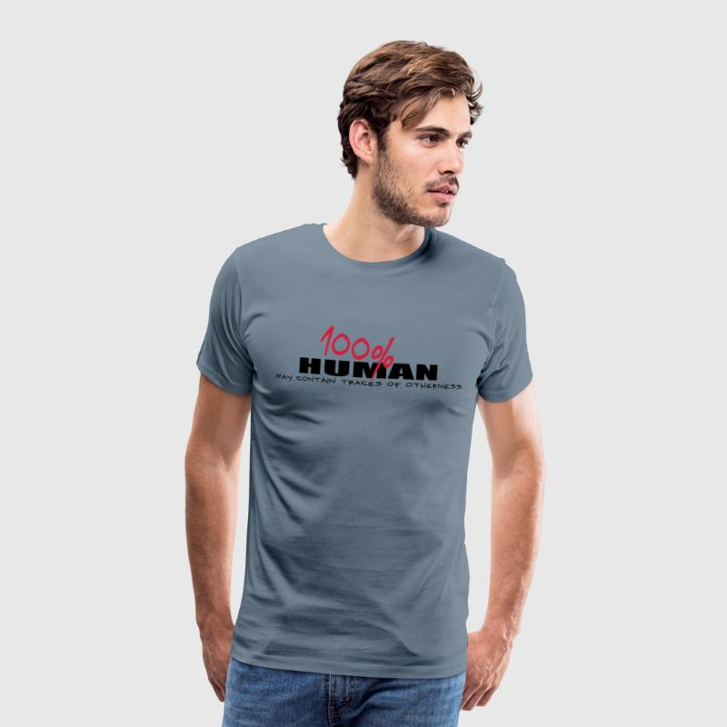 100% human and other T-Shirts - Men's Premium T-Shirt