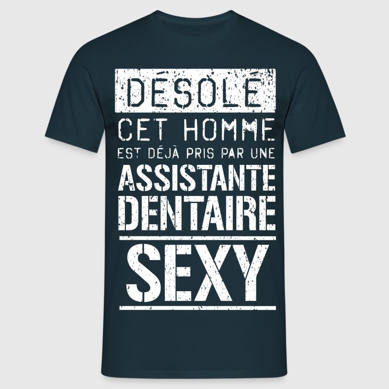 T-shirt Assistante Dentaire  - T-shirt Homme