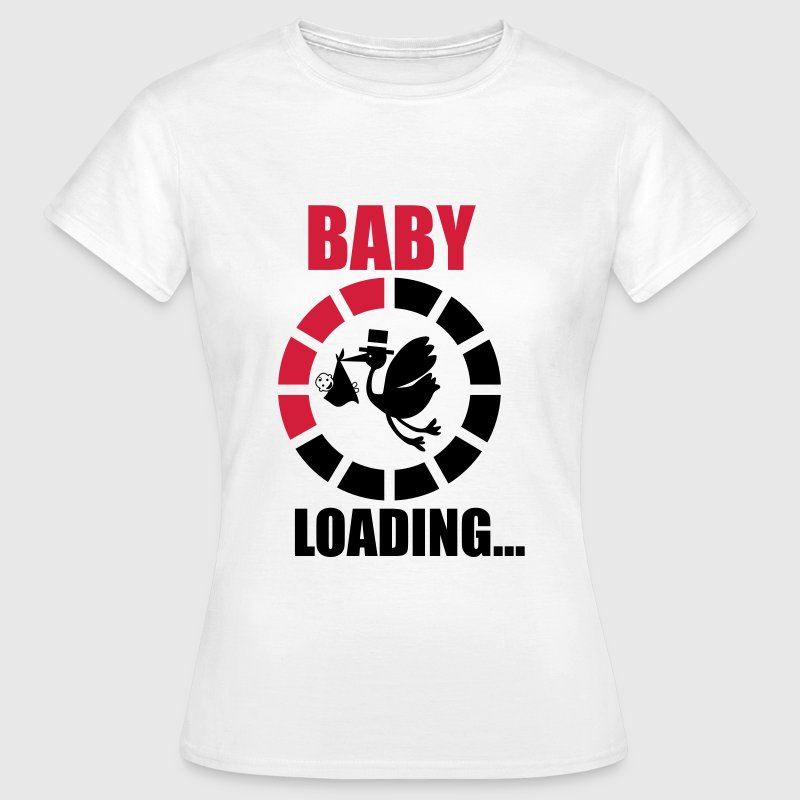 BABY LOADING 3 T-Shirts - Frauen T-Shirt