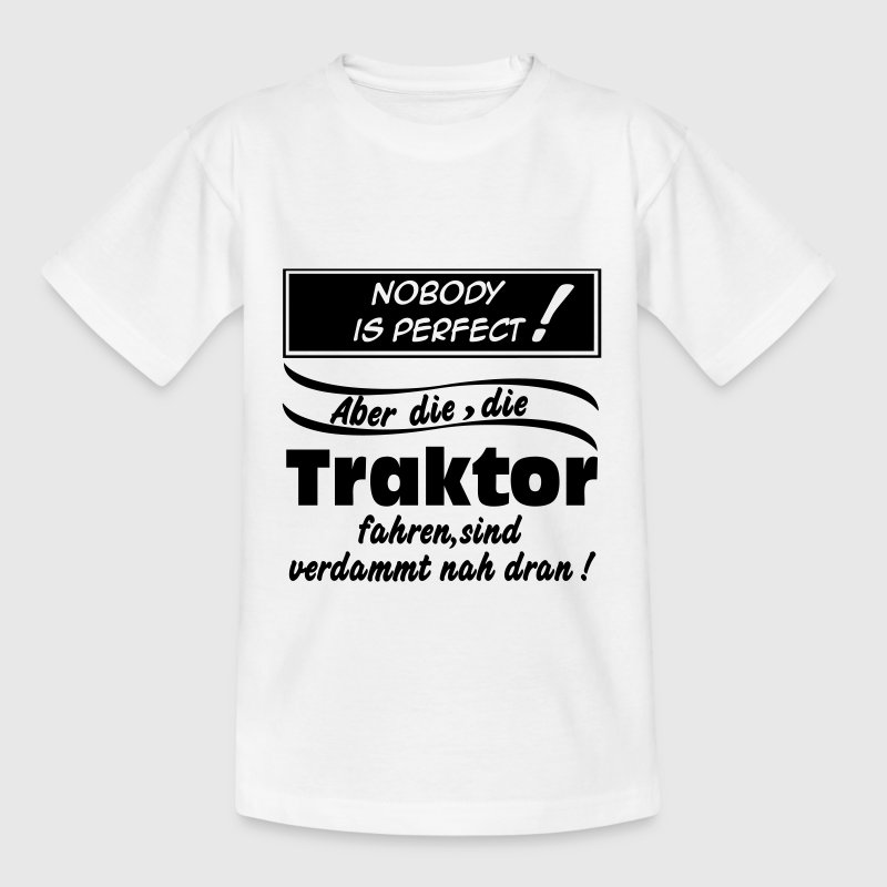 Nobody Traktor T-Shirts - Teenager T-Shirt