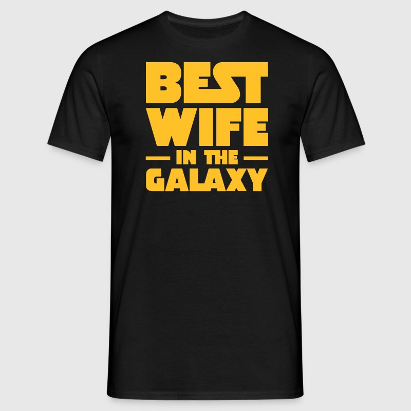 Best Wife In The Galaxy T-shirts - Mannen T-shirt