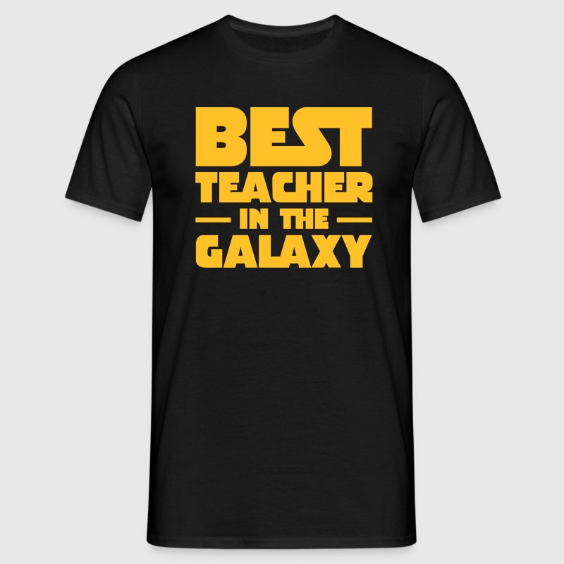 Best Teacher In The Galaxy Camisetas - Camiseta hombre