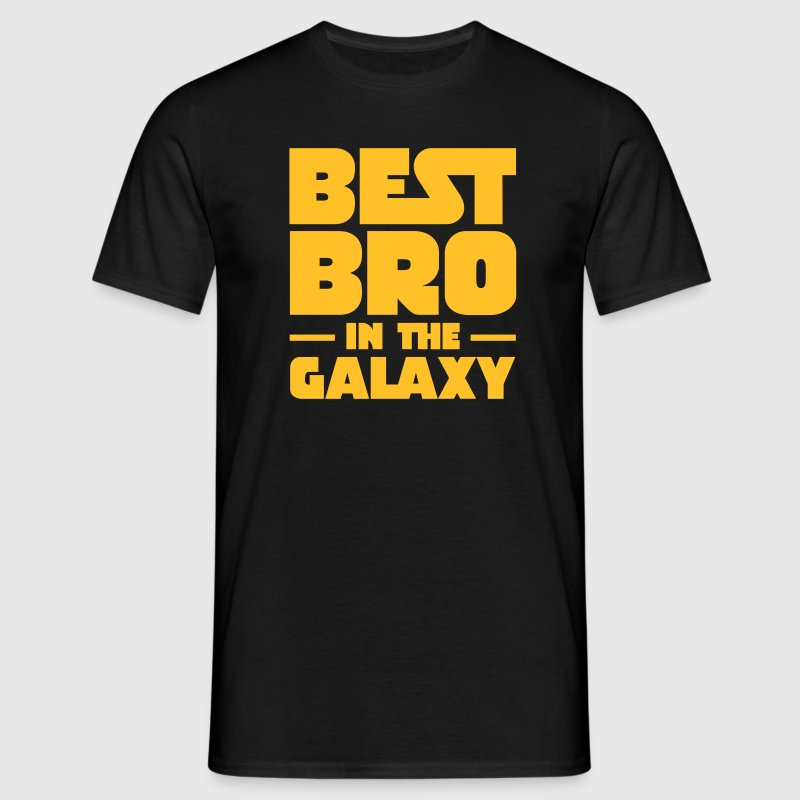 Best Bro In The Galaxy T-shirts - Herre-T-shirt