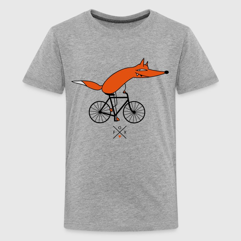 smarter cyclists Shirts - Teenage Premium T-Shirt
