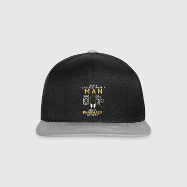 UNDERESTIMATE NEVER N MAN WITH NEM TASKS COMPLETION Bags & Backpacks - Snapback Cap