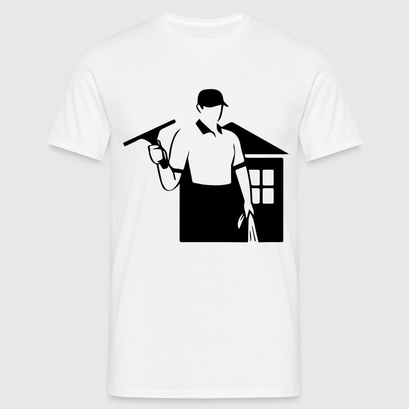 window cleaner T-Shirts - Men's T-Shirt