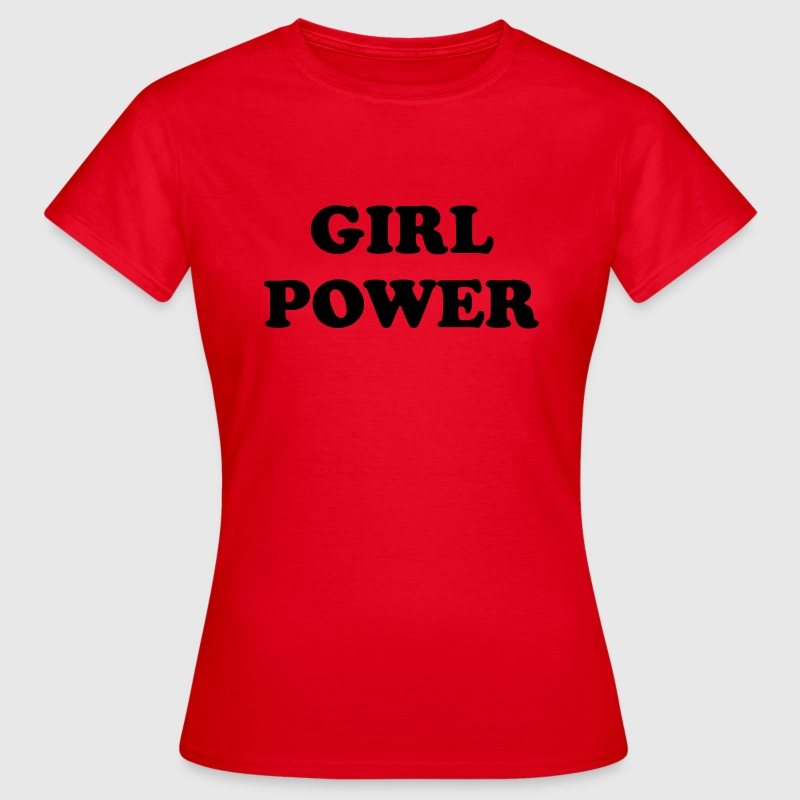 Girl power T-shirts - T-shirt dam