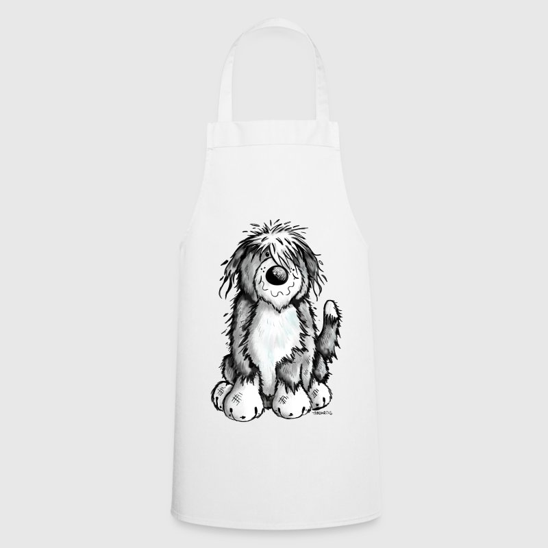 Cute Bearded Collie  Aprons - Cooking Apron