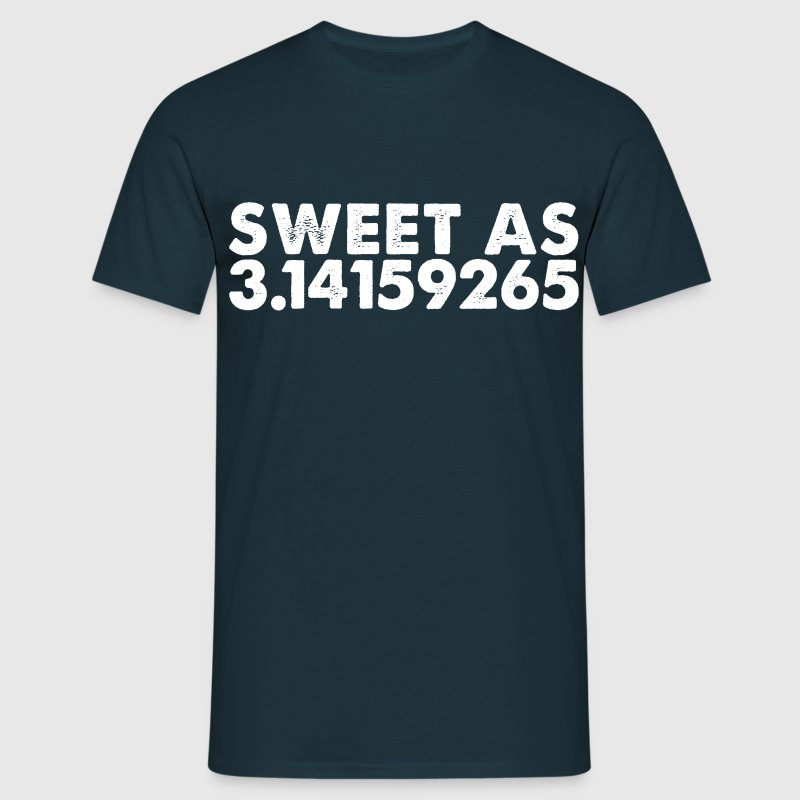 sweet as 3.1419265 T-Shirts - Men's T-Shirt