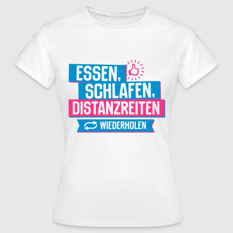 Hobby Distanzreiten T-Shirts - Frauen T-Shirt