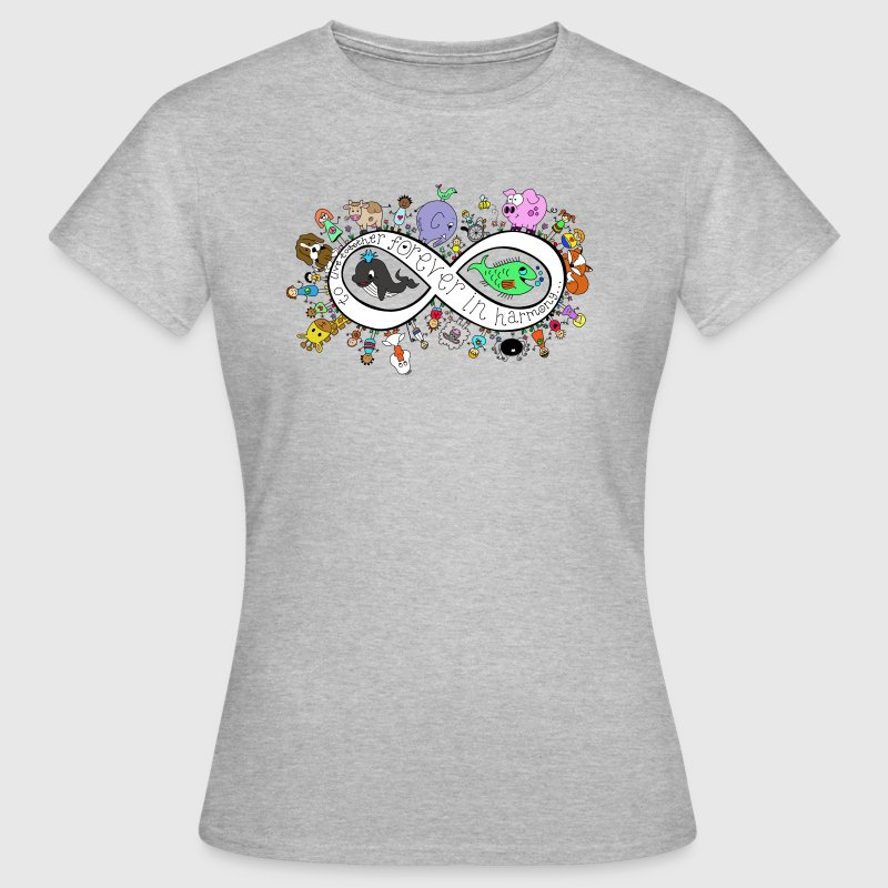 vegan love equality tee  T-Shirts - Women's T-Shirt