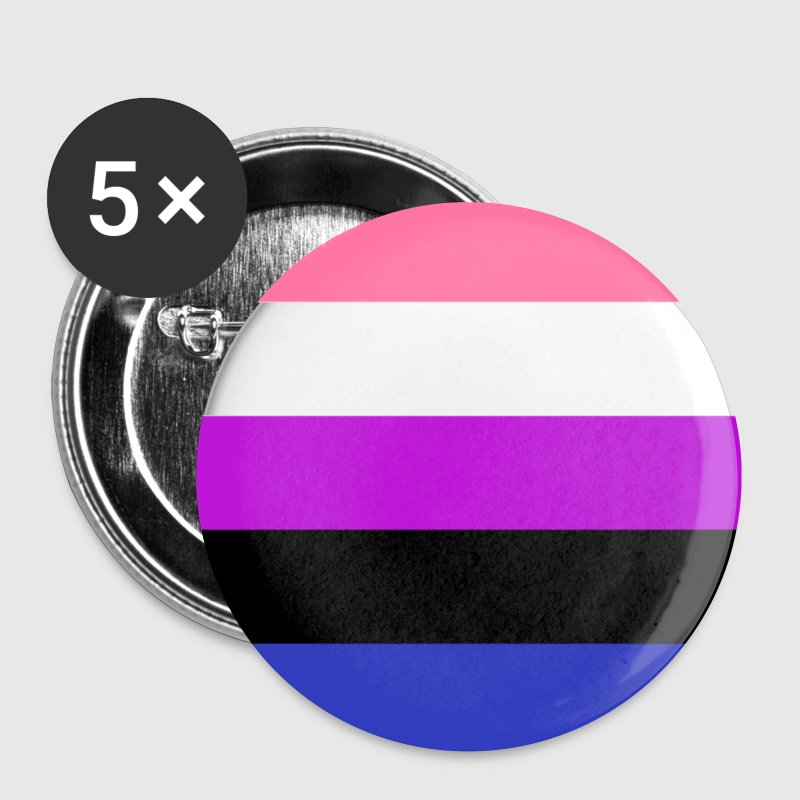 gender fluid Buttons - Buttons small 25 mm