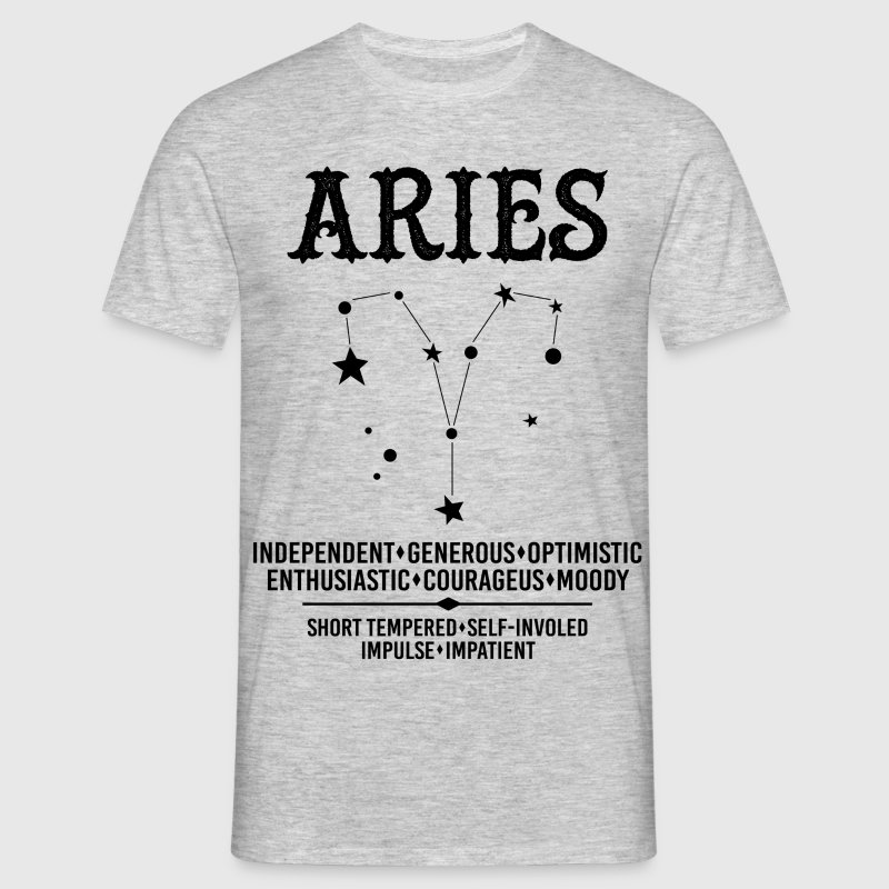 T-Shirt: Zodiac Design. Note: The image used in the apparel section is simulated for illustration only. The proportion of the image may look slightly differ on the finished product.