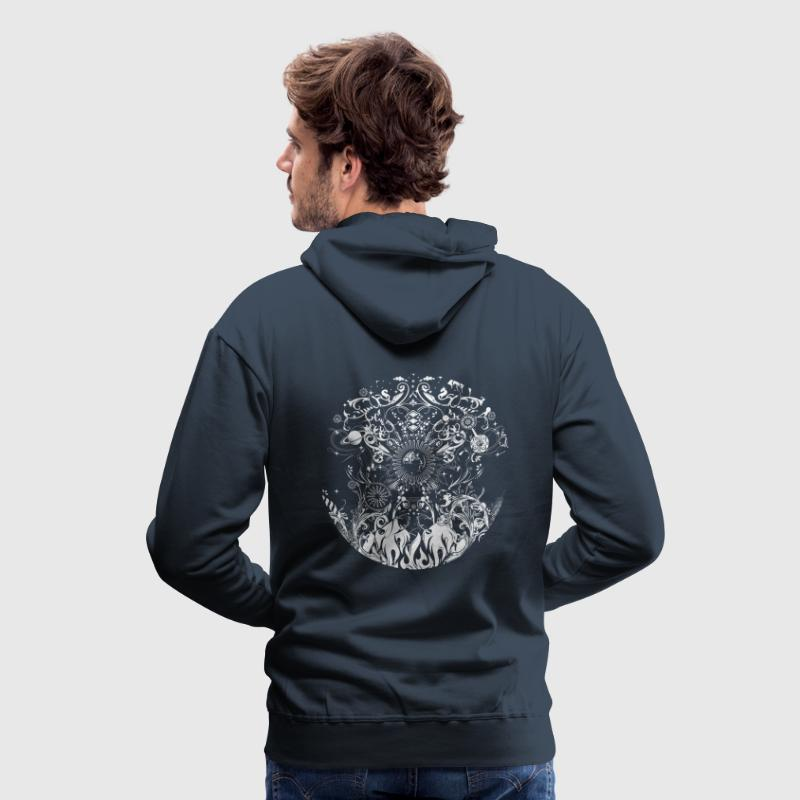four elements Hoodies & Sweatshirts - Men's Premium Hoodie