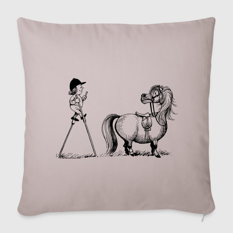 Thelwell - Penelope wirh stilts Other - Sofa pillow cover 44 x 44 cm