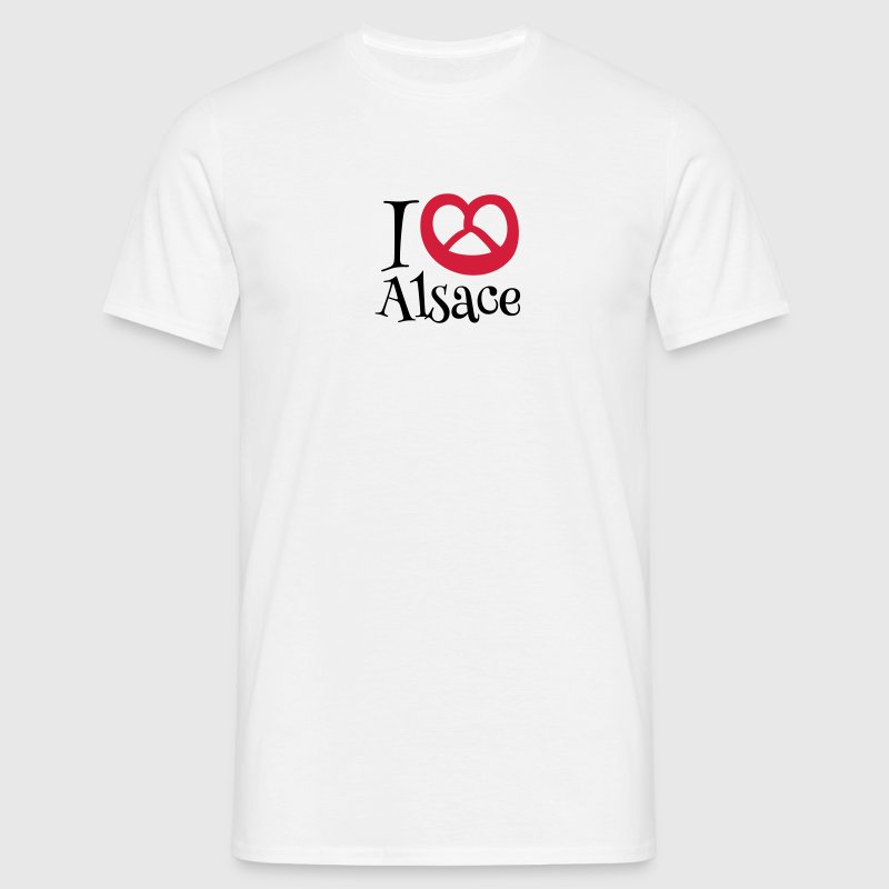 I LOVE ALSACE - T-shirt Homme