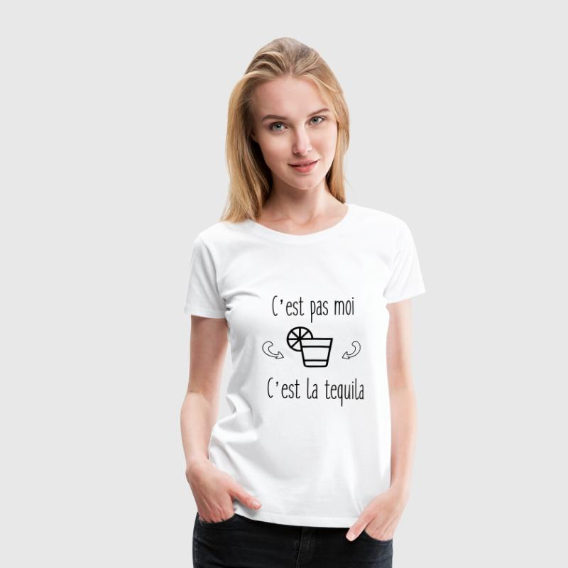 humour - tequila citations Tee shirts - T-shirt Premium Femme