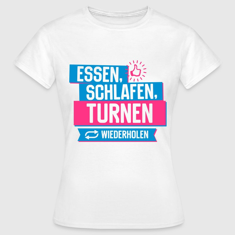 Hobby Turnen T-Shirts - Frauen T-Shirt