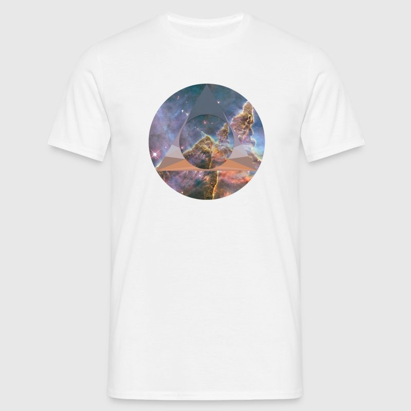 Space polygon Tee - Men's T-Shirt