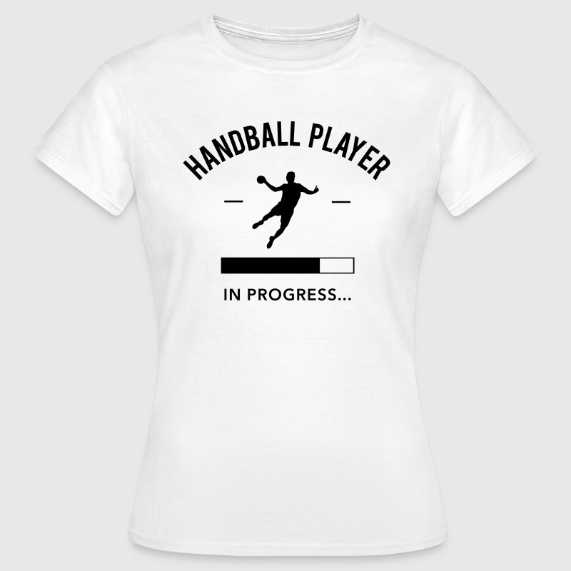 Handball player in progress Frauen T-Shirt - Frauen T-Shirt