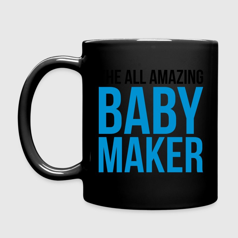 Amazing Baby Maker Funny Quote Mugs & Drinkware - Full Colour Mug