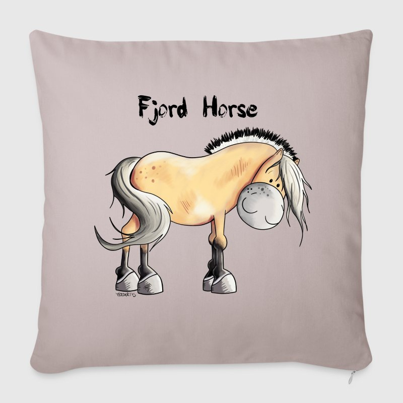 Cute Fjord Horse Other - Sofa pillow cover 44 x 44 cm