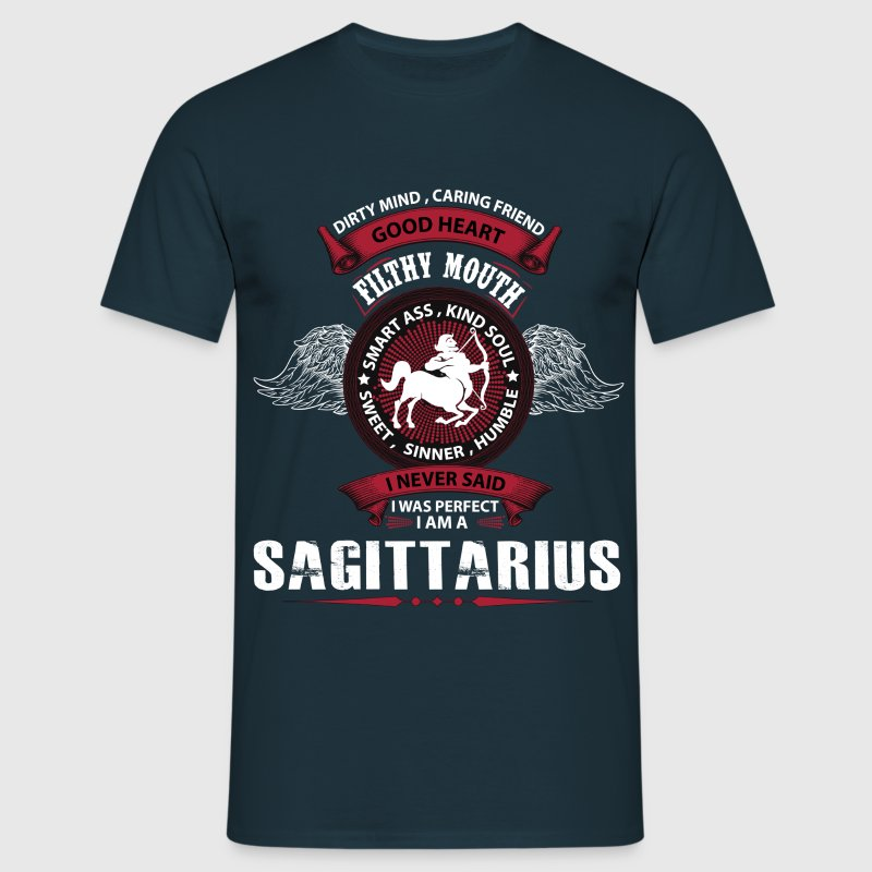 I Never Said I Was Perfect I Am A Sagittarius T-Shirts - Men's T-Shirt