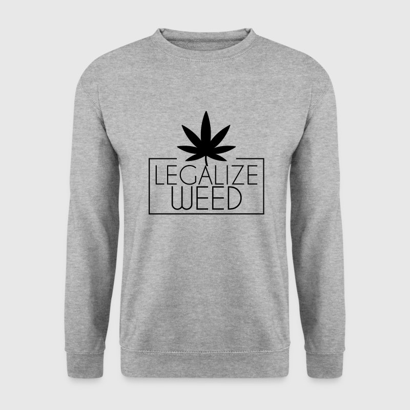 Legalize weed Pullover & Hoodies - Männer Pullover