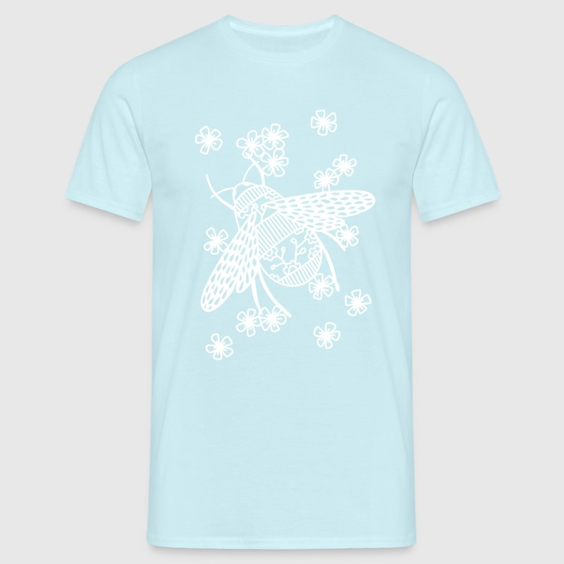 Papercut Bee - Men's T-Shirt